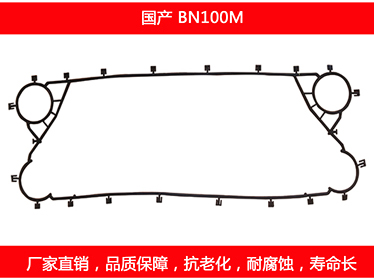 BN100M detachable plate heat exchanger gasket