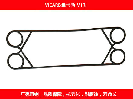 V13 plate heat exchanger gasket
